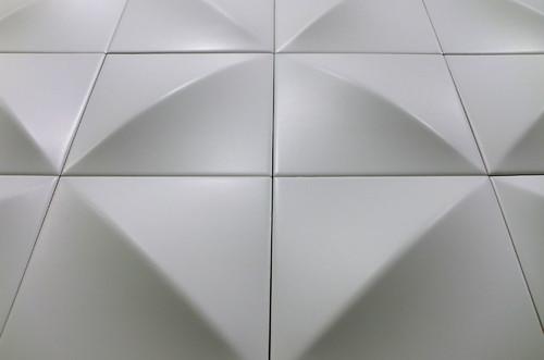 3d Płytki Białe Do łazienki Saloni Up Slide 148x148