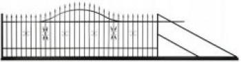 Brama wjazdowa przesuwna Milord 4,00m Polbram