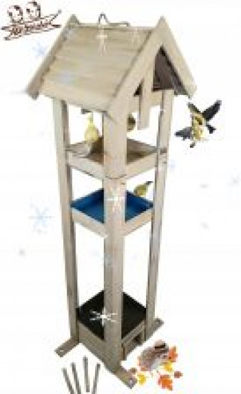 Karmnik Poidło dla Ptaków Domek lęgowy dla jeży