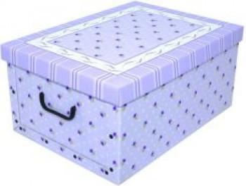 Miss Space Pudełko Kartonowe Maxi Prowansalskie Fioletowe