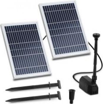 Uniprodo Pompa Solarna Do Oczka Wodnego Fontanna 1350 L/H 1,6 M
