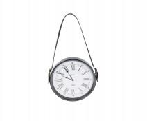 Industrialny zegar ścienny, wiszący, retro, vintage Gun Smoked 30 cm