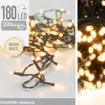 Lampki choinkowe zewnętrzne 180 led białe ciepłe