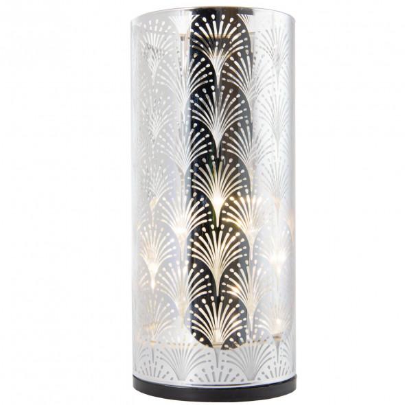 Ozdoba świąteczna lampka lampion latarenka wazon świecznik LED 15 cm wz.4