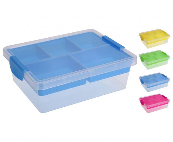 Pudełko z organizerem, tacka z przegródkami, organizer, pojemnik, tacka, przegródki, do przechowywania