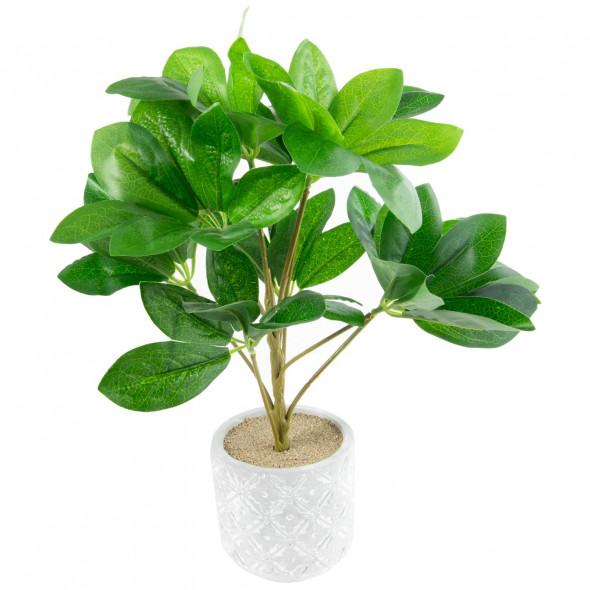 Sztuczna roślina kwiat roślinka w doniczce 30 cm wz.1