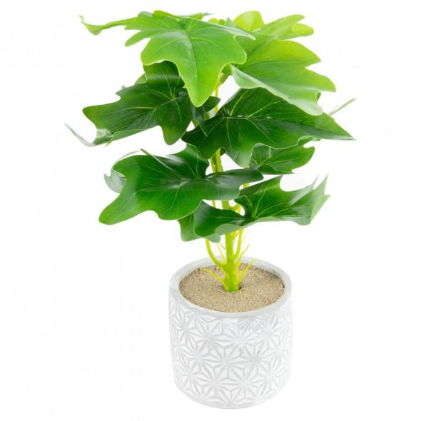 Sztuczna roślina kwiat roślinka w doniczce 30 cm wz.2
