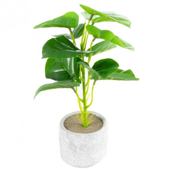 Sztuczna roślina kwiat roślinka w doniczce 30 cm wz.3