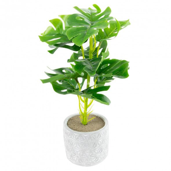 Sztuczna roślina kwiat roślinka w doniczce 30 cm wz.5