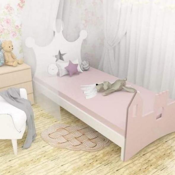 Łóżko dla dzieci korona