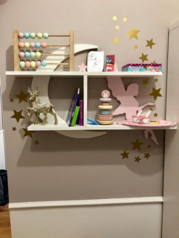 Półka dla dzieci wisząca wróżka