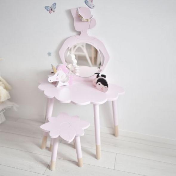 Toaletka dla dzieci prima ballerina - drewno