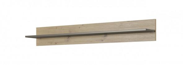 ALTO - Półka 138 / Dąb artisan + grafit mat