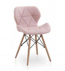 krzesło MILO róż/buk
