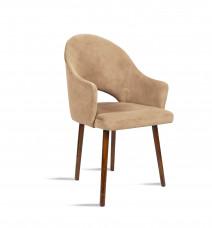 Krzesło BARI beż/ noga orzech/ TR4 Bettso Meble