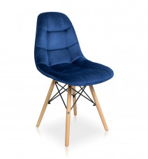 krzesło Fabio Velvet granatowy Bettso Meble