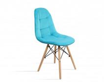 krzesło Fabio Velvet morski Bettso Meble