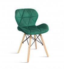 krzesło Milo Velvet zielony Bettso Meble