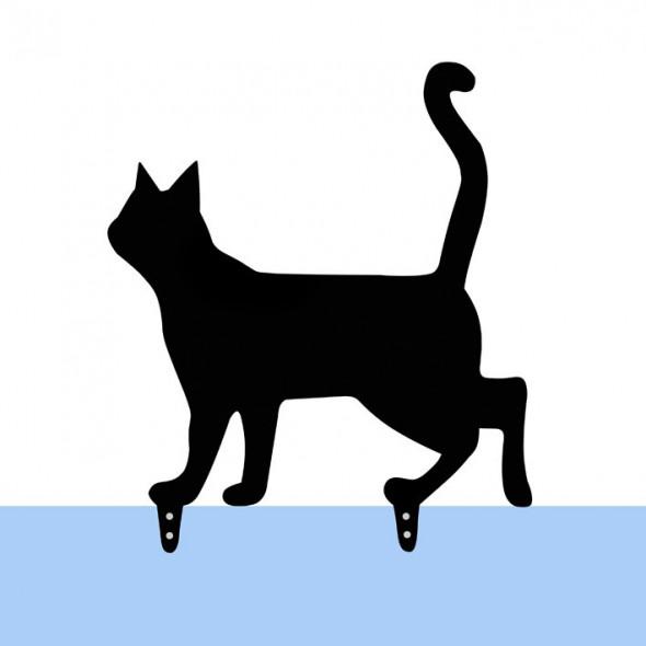 Prezent do ogrodu Kot Lump - figurka ogrodowa