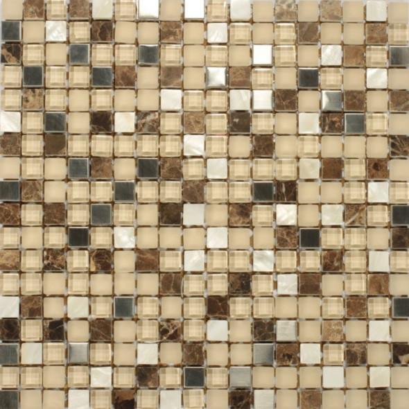 Mozaika kamienna adriatic glass 15x15