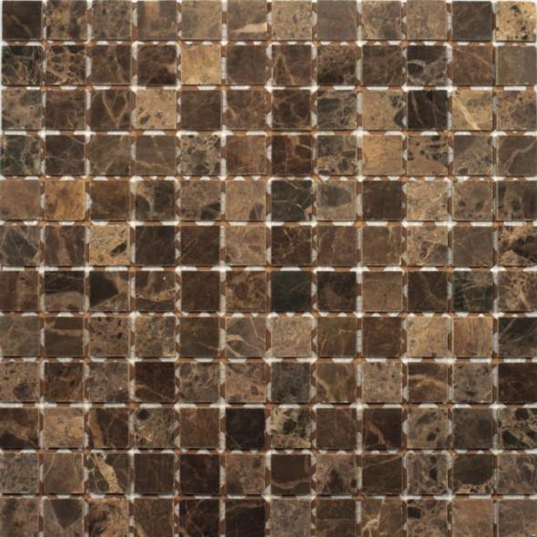 Mozaika kamienna marble black połysk 23x23