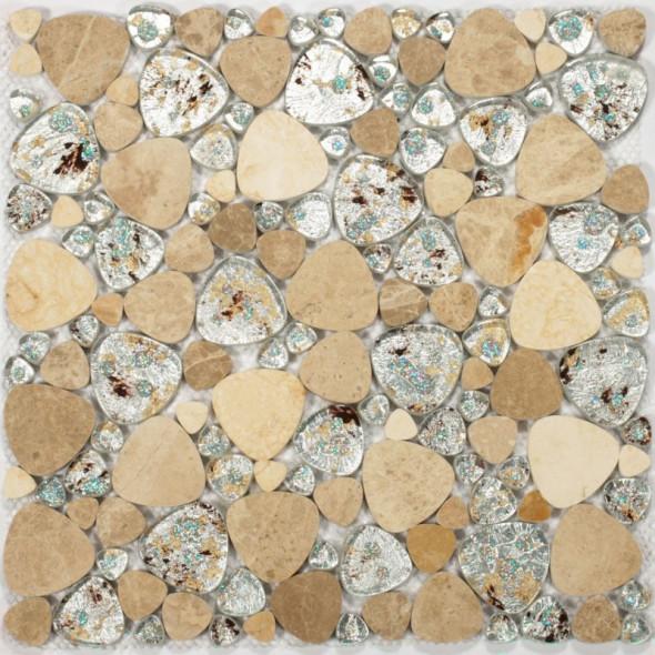 Mozaika kamienna triangular stoneglass