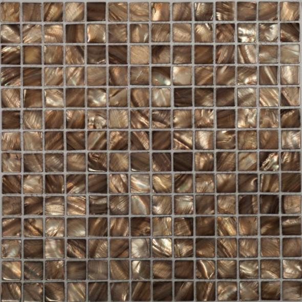 Mozaika masa perłowa sea shell dark
