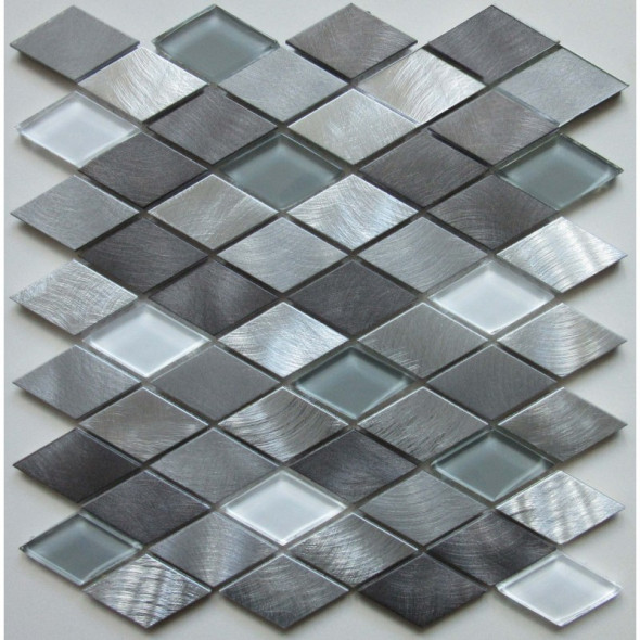 Mozaika metalowa angular space