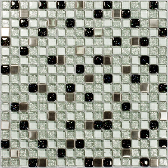 Mozaika metalowa sparkling glass