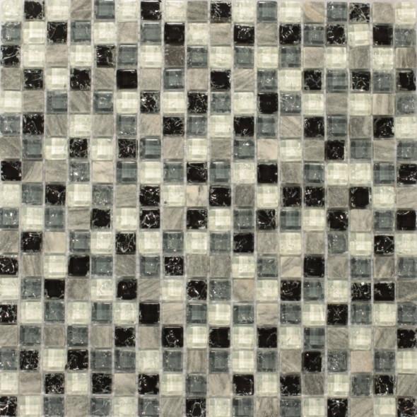 Mozaika szklana aosta 15x15
