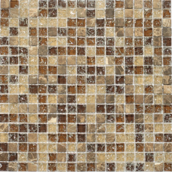 Mozaika szklana atlas mix 15x15