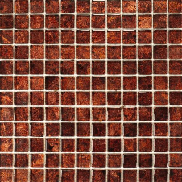 Mozaika szklana brillant ginger 23x23x8
