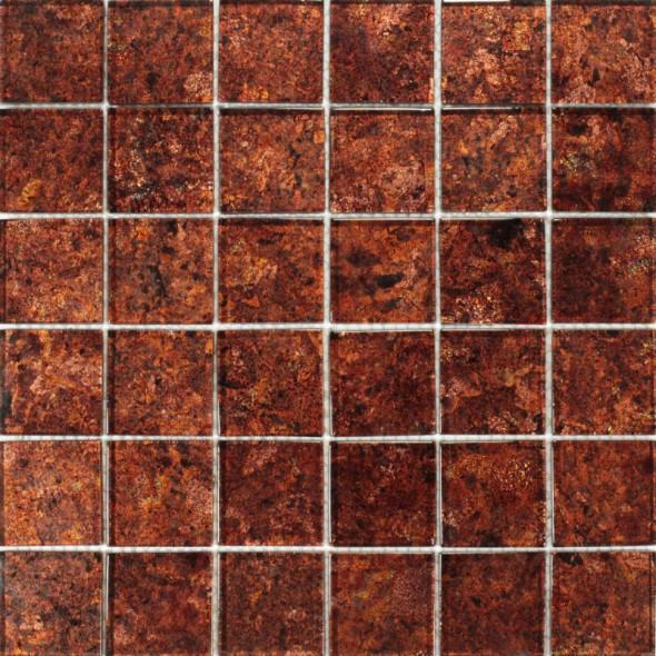 Mozaika szklana brillant ginger 48x48x8