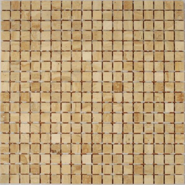 Mozaika trawertyn botticino lappato 15x15