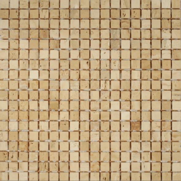Mozaika trawertyn trawertino florence rs034 15x15