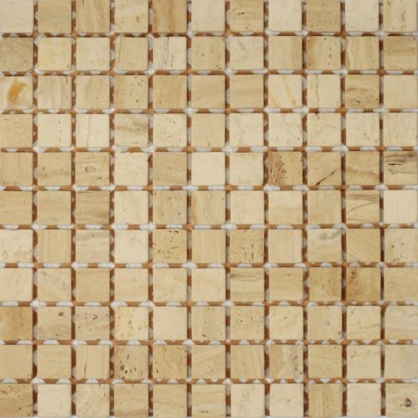 Mozaika trawertyn trawertino florence rs039 25x25