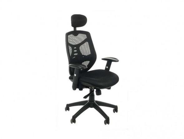 Fotel biurowy Sit Plus Spectrum HB-NET czarny --- OFICJALNY SKLEP Sitplus