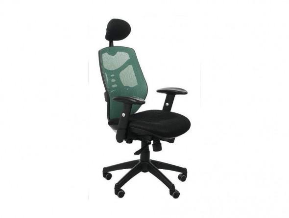 Fotel biurowy Sit Plus Spectrum HB-NET zielony --- OFICJALNY SKLEP Sitplus