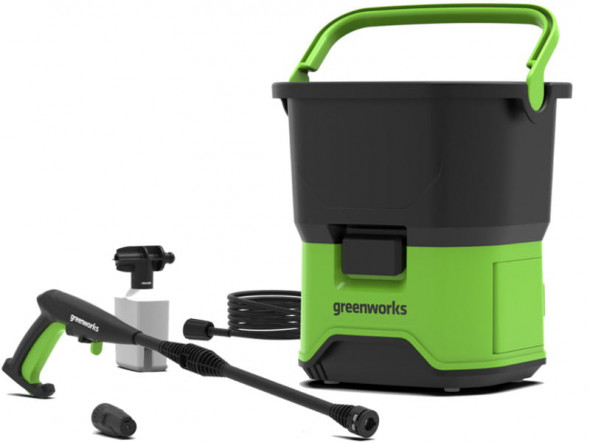 Greenworks Akumulatorowa Myjka ciśnieniowa GDC40 40V (GR 5104507) --- OFICJALNY SKLEP Greenworks Tools