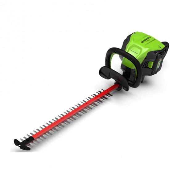 Greenworks Akumulatorowe Nożyce do żywopłotu 61 cm GD60HT 60V (2203407) --- OFICJALNY SKLEP Greenworks Tools