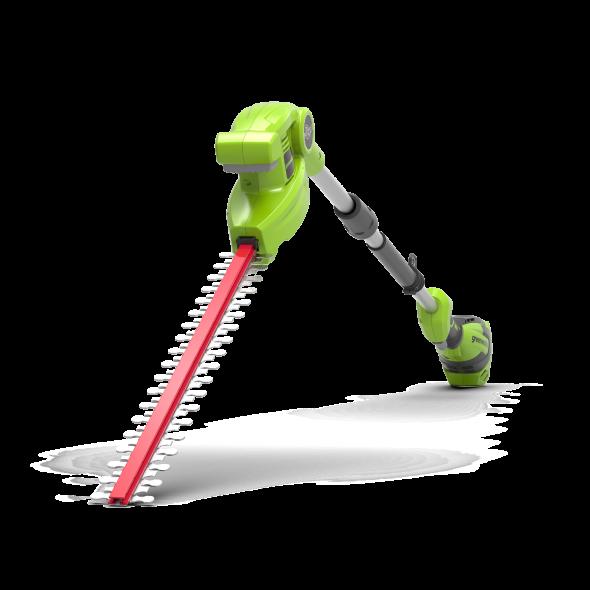 Greenworks Akumulatorowe Nożyce do żywopłotu na wysięgniku 51 cm G40PHA 40V (GR 2300407) --- OFICJALNY SKLEP Greenworks Tools