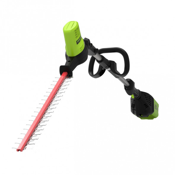 Greenworks Akumulatorowe Nożyce do żywopłotu na wysięgniku 51 cm GD60PHT 60V (GR 2300107) --- OFICJALNY SKLEP Greenworks Tools