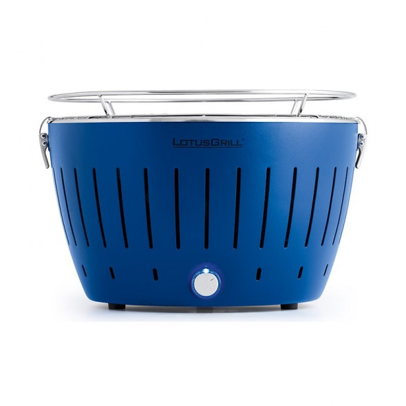 Grill węglowy LotusGrill Standard niebieski --- OFICJALNY SKLEP LotusGrill