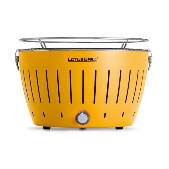 Grill węglowy LotusGrill Standard żółty --- OFICJALNY SKLEP LotusGrill