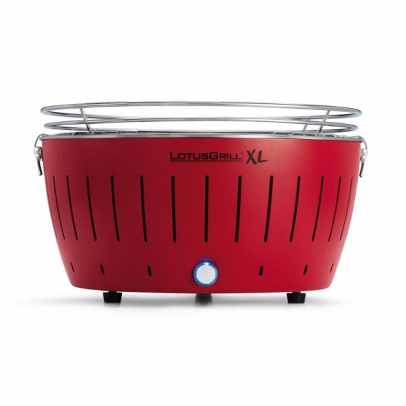 Grill węglowy LotusGrill XL czerwony --- OFICJALNY SKLEP LotusGrill