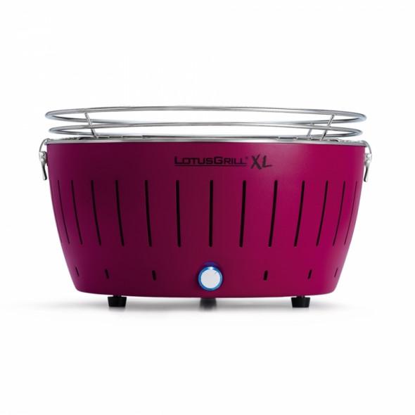 Grill węglowy LotusGrill XL fioletowy --- OFICJALNY SKLEP LotusGrill