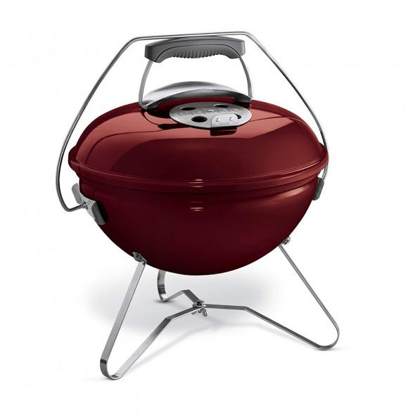 Grill węglowy przenośny Weber Smokey Joe Premium 37 cm ceglasty (1124004) --- CERTYFIKOWANY PARTNER Weber WORLD