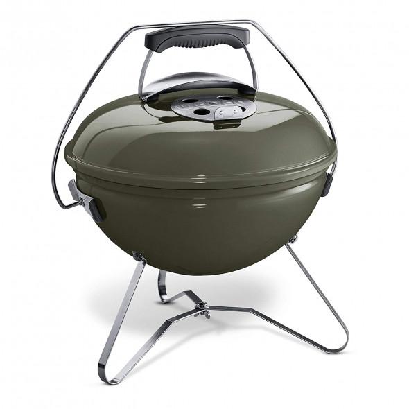 Grill węglowy przenośny Weber Smokey Joe Premium 37 cm szary metaliczny (1126704) --- CERTYFIKOWANY PARTNER Weber WORLD