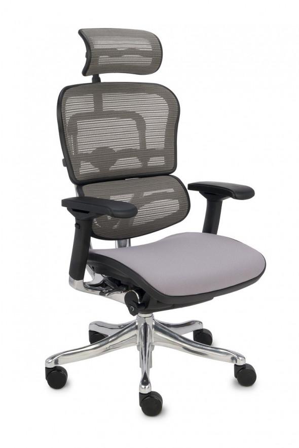 Grospol Fotel biurowy Ergohuman Plus Elite BT szary (KMD30) --- OFICJALNY SKLEP Grospol