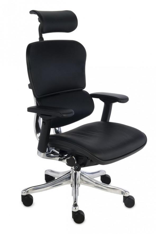 Grospol Fotel biurowy Ergohuman Plus Elite (LE01) skóra --- OFICJALNY SKLEP Grospol